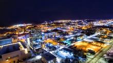 Anchorage Alaska Night Photos Nov 17
