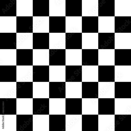 Obraz na plátně Vector pattern seamless white and gray as checkerboard transparent background