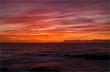 アフリカ大陸最南端の地、アグラス岬の夕暮れ-1