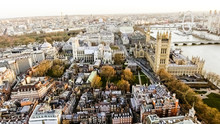 Aerial View Photo Of Big Ben A...