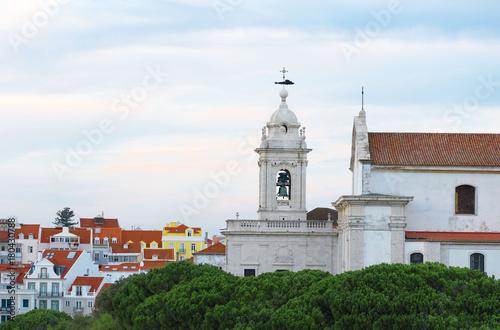 Obraz na dibondzie (fotoboard) Convento da Graca kościoła w Lizbonie