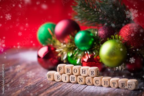 Frohe Weihnachten Grüße.Frohe Weihnachten Gruß Buy This Stock Photo And Explore Similar