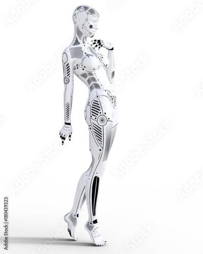 Photo Robot woman