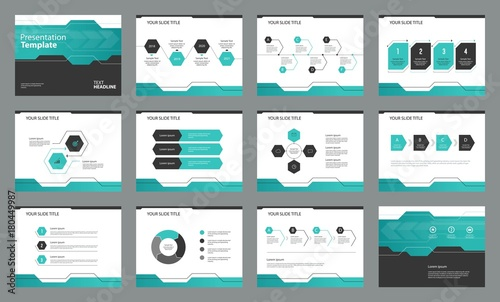 Valokuva  page layout design with info graphic element  template for  presentation , broch