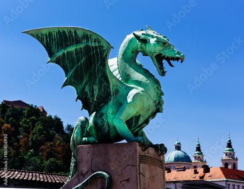 Cadres-photo bureau Dragons Ljubljana Drachenbrücke