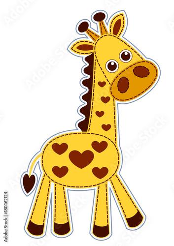 Poster de jardin Zoo Little giraffe