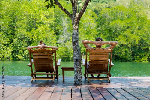 Fotografia  Tropikalny krajobraz Koh Kood