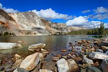 Lake Marie Landscape Wyoming