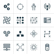 Learning Icons Set. Includes Icons Such As Radio Waves, Laptop Ventilator, Solution And Other.