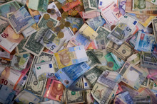 Variety Of The World Banknotes