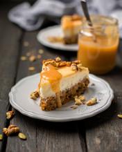 Carrot Nut Vanilla Cheesecake ...