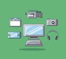Gadgets Technology Device Desi...
