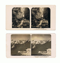 Stereoscope  Card  /  Old Ster...