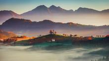 Panoramic Sunrise View Of Sain...