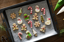 Christmas Cookies Decorated Wi...