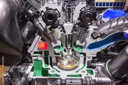 Fotografía  Engine cross section