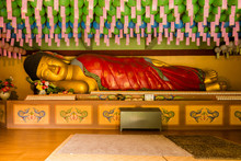 Recumbent Buddha In Waujeongsa...