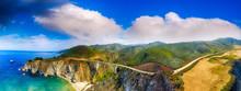 Bixby Bridge And Big Sur Aeria...