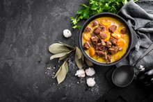 Meat Stew, Goulash In A Cast I...