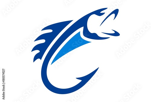 Fotografia fishing logo