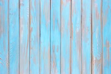 Antique wooden board. Shield of blue wood