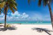 Der karibische Traumstrand Playa Norte auf Isla Mujeres in Mexiko, Karibik