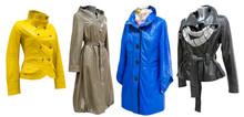 Leather Coats Set