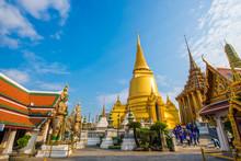 Wat Phra Kaew Grand Palace Bui...