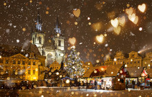 The Old Town Square At Christm...