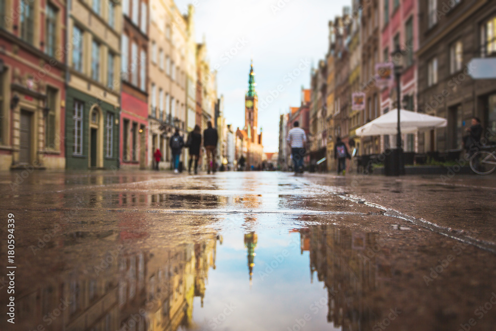 Fototapety, obrazy: Reflection of Gdansk