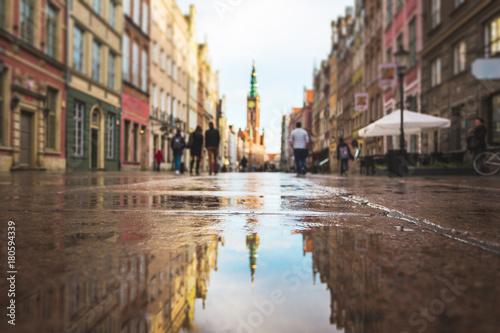 Reflection of Gdansk Wallpaper Mural