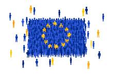 Vector European Union State Fl...