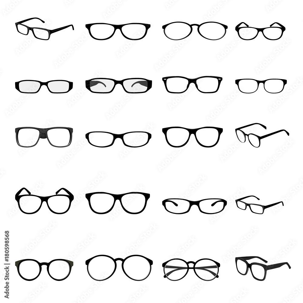 Fototapeta fashion eyeglass vector design