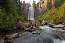 Tumalo Falls In Central Oregon...