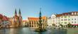 canvas print picture - Braunschweig, Altstadtmarkt