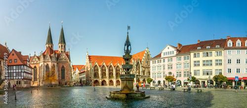 Foto auf Gartenposter Europäische Regionen Braunschweig, Altstadtmarkt