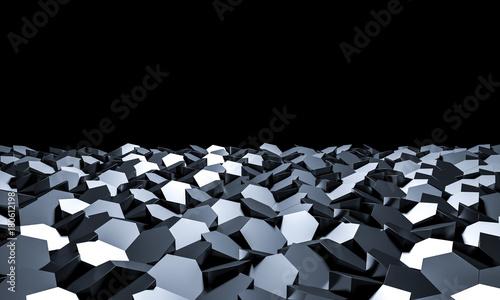 geometric 3d background © tiero