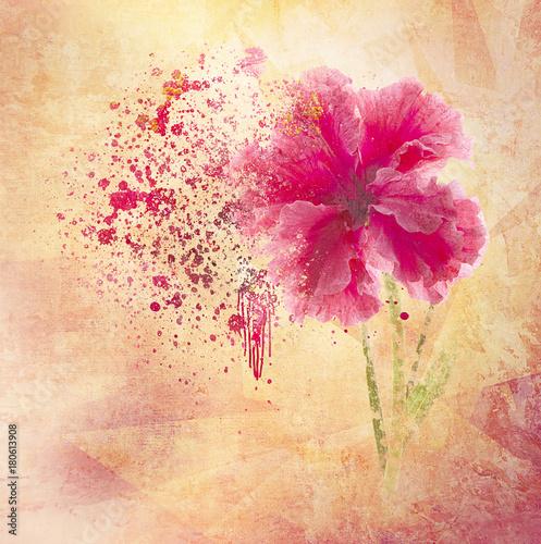 kwiat tło z teksturą
