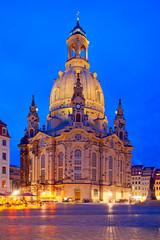 Fototapeta na wymiar Dresdner Frauenkirche, Deutschland