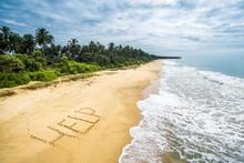 Wild Tropical Island With A De...