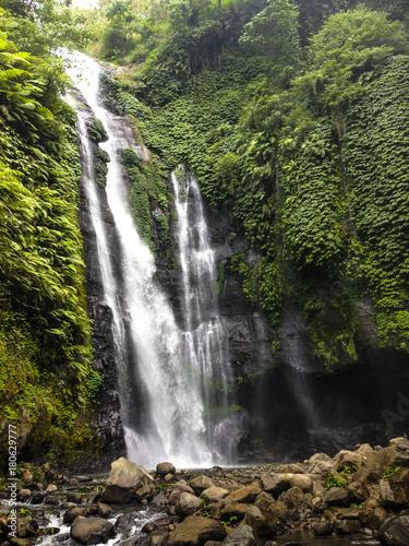 Fototapeta Sekumpul Waterfall - Bali, Indonesia obraz na płótnie