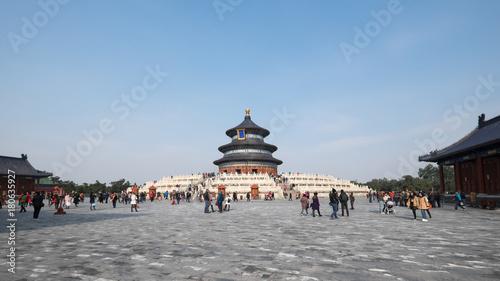 In de dag Peking The Temple of Heaven. Beijing, China