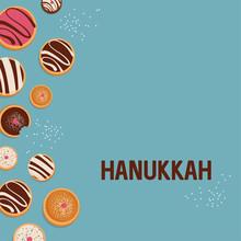 Hanukkah Dougnut , Jewish Holi...