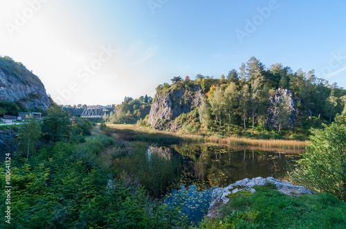 Obraz Rezerwat przyrodniczy kadzielnia, Kielce, Polska - fototapety do salonu