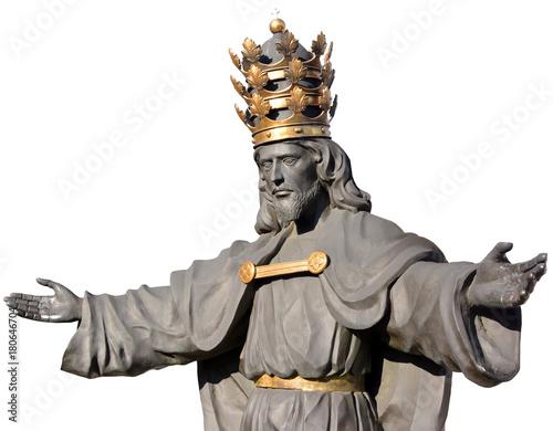 Foto op Plexiglas Monument Statua, pomnik Chrystusa, Jasna Góra, Częstochowa