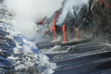 Lava Flows From The Kilauea Vo...
