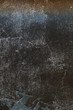 Vertical view of Abstract blue background and texture. Grunge old paint surface