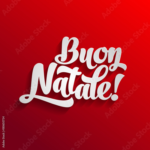 Merry christmas card logo template with greetings in italian buon merry christmas card logo template with greetings in italian buon natale merry xmas m4hsunfo