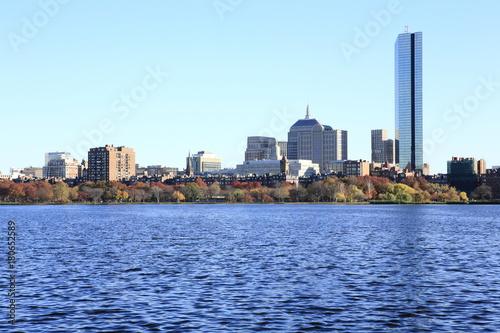 Plagát  Boston City waterfront