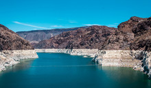 Lake Mead. Reservoir On The Co...